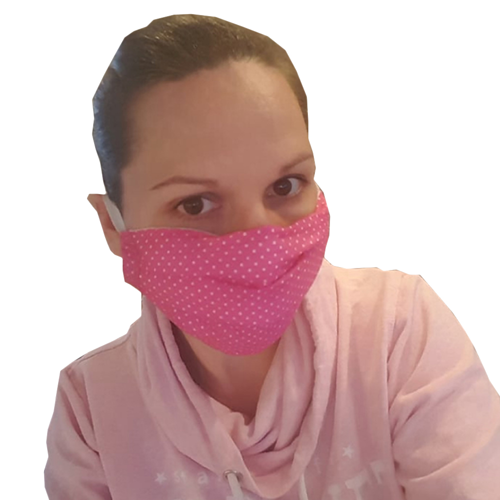 Zaščitne maske za večkratno uporabo (Ženska)